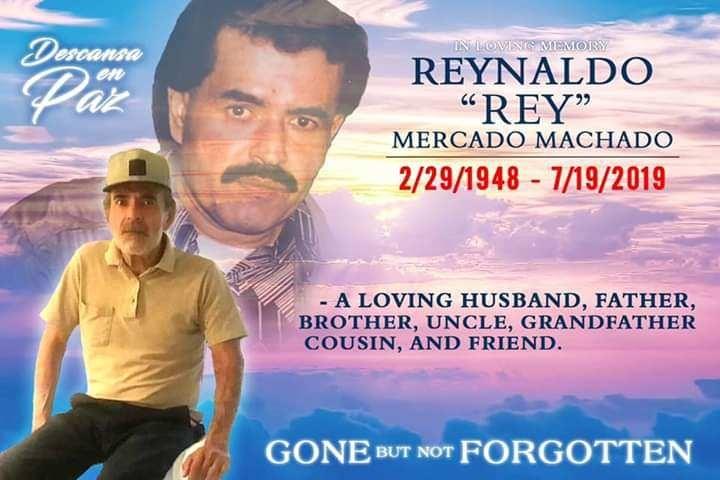 "Mercado Machado, Reinaldo ""Ray"""